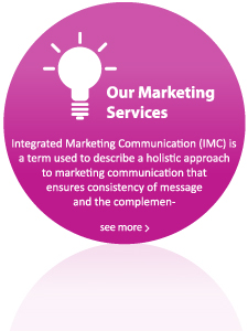 Integrated Marketing Communication (IMC) is a term used to describe a holistic approach to marketing communication that ensures consistency of message and the complementary use if media.
